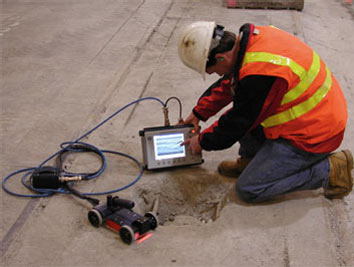 Ground penetrating radar professional services (GPRPS